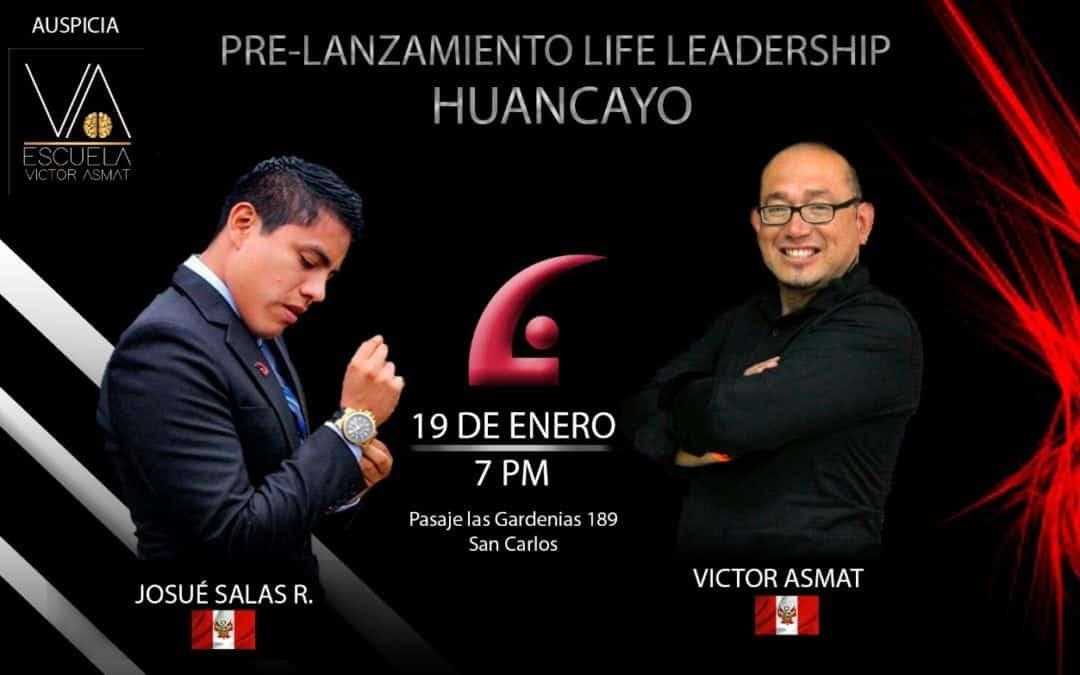 Pre – Lanzamiento Lifeleadership HUANCAYO
